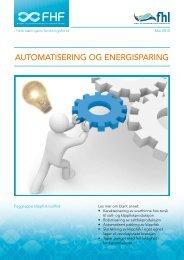 automatisering og energisparing - FHL