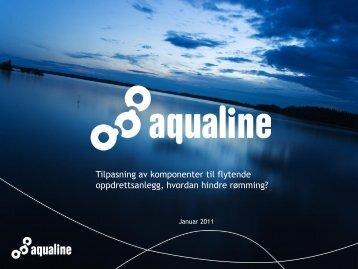 Tilpasning av komponenter - Erik Bårdseng (Aqualine) - FHL