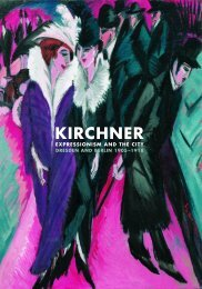 KIRCHNER - Royal Academy of Arts