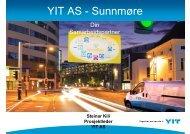 YIT AS - Sunnmøre - FHL