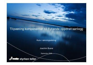 Presentasjon - Aqualine - FHL