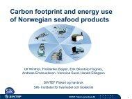 Presentasjon av klimaregnskap (pdf) - FHL