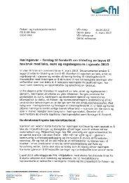 Høringssvar fra FHL (pdf)