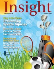 Preventing Sports Injuries - FHN