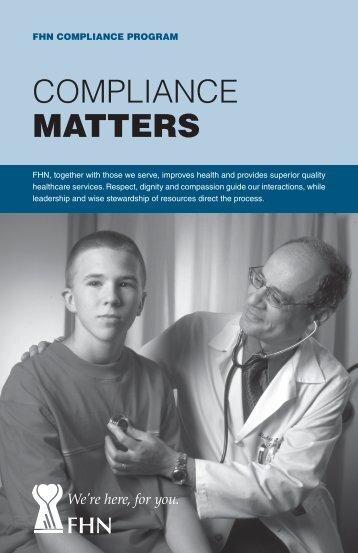 Compliance Program brochure - FHN