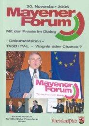 Mayener Forum - Fachhochschule für öffentliche Verwaltung