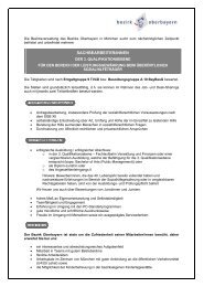 Bezirk Oberbayern - Fachhochschule für öffentliche Verwaltung