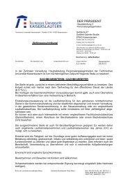 DER PRÄSIDENT - Fachhochschule für öffentliche Verwaltung