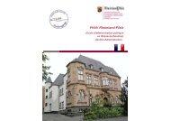 FHöV Rheinland-Pfalz - Fachhochschule für öffentliche Verwaltung