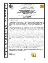 Fall Newsletter 2012 - Forest Hills Public Schools