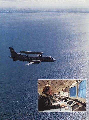 Ny radarspaning och stridsledning i drift