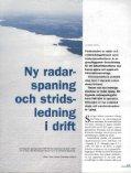 Ny radarspaning och stridsledning i drift - Page 2
