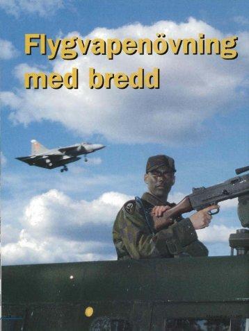 Flygvapenövning med bredd