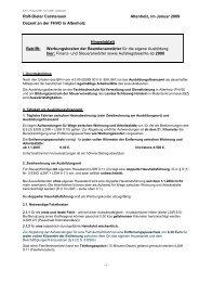 FINANW 2008 - FHVD - Fachhochschule für Verwaltung und ...