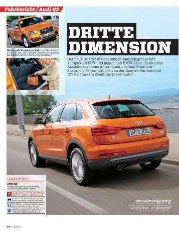 Audi Q3 Fahrbericht