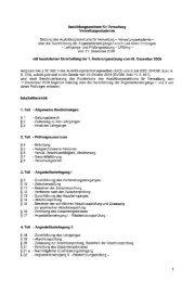 Satzung des Ausbildungszentrums für Verwaltung