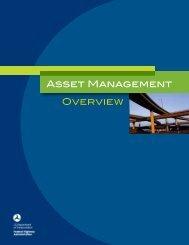 Asset Management Overview Asset Management ... - King County