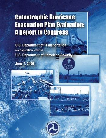 Report to Congress on Catastrophic Hurricane Evacuation Plan ...