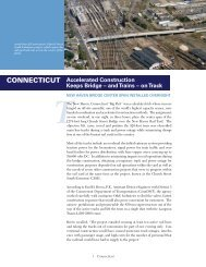 Accelerated Construction Keeps Bridge - and Trains - on Track
