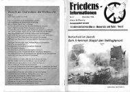 Friedensinfo 37 - Friedens Initiative Hunsrück