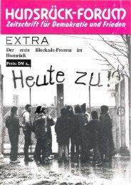 Der erste Blockade-Prozess Im Hunsrück - Friedens Initiative ...