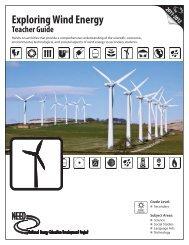 Exploring Wind Energy Teacher Guide - The Franklin Institute