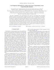 Low-frequency fluctuations in vertical cavity lasers: Experiments ...