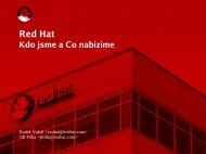 Red Hat Czech, s.r.o.