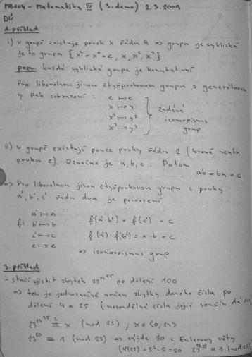 MB104 - Matematika IV (3. demo)