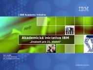 IBM Česká republika, s.r.o. - Masarykova univerzita