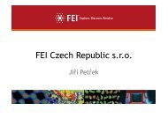 FEI Czech Republic s.r.o.