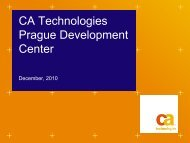 CA Technologies Prague Development Center
