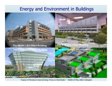 Energy and Environment in Buildings - FIABCI