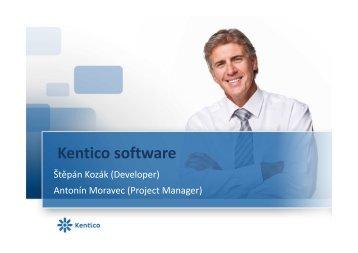 Kentico software