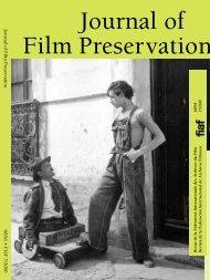 Journal of Film Preservation N° 60/61 - FIAF