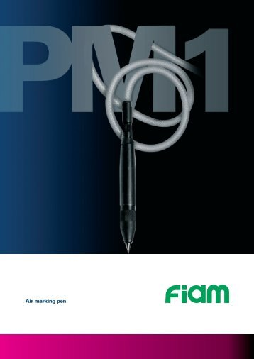 Air marking pen - Fiam Air Tools BeNeLux