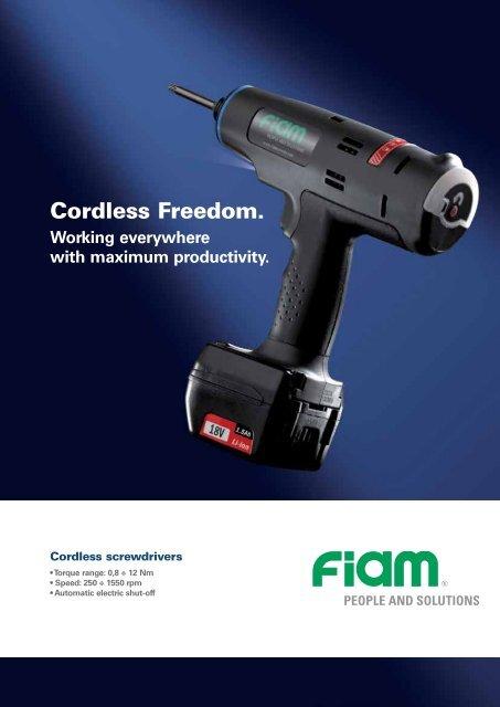 Cordless Freedom. - Fiam