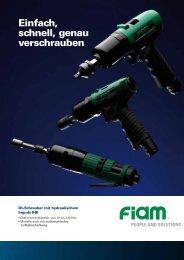 PDF zum Download - FIAM Utensili Pneumatici Spa