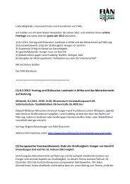 (1) 8.2.2012: Vortrag und Diskussion: Landraub in ... - FIAN Österreich