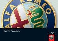 ALFA TCT Transmission
