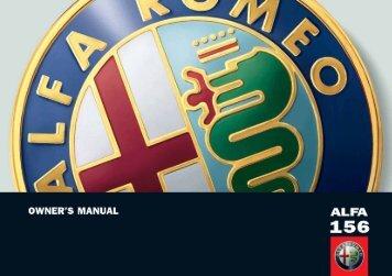 001-055 Alfa 156 GB - Alfa Romeo serviss