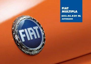 603.46.829NL Multipla Radio SB05 - Fiat-Service