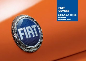 603.46.410NL Ulysse Connect - Fiat-Service