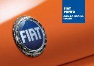 603.46.335NL Punto CL Connect - Fiat-Service