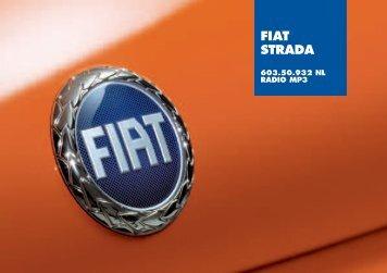 603.50.932NL Strada Radio - Fiat-Service