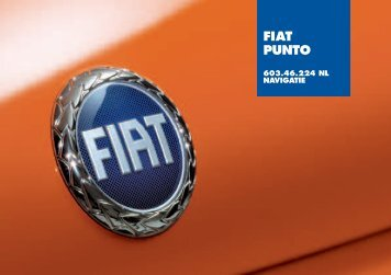 603.46.224NL Punto CL Nav - Fiat-Service
