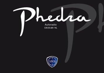 530.03.681NL Phedra Radio - Fiat-Service