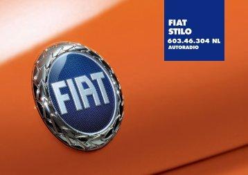 603.46.304 Fiat Stilo Radio - Fiat-Service
