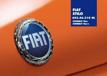 603.46.310NL Stilo Connect - Fiat-Service