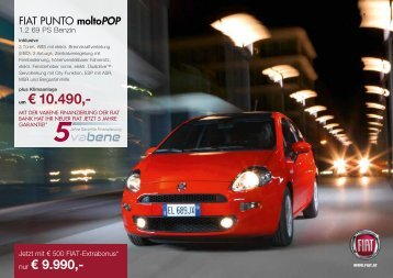 Punto Angebote (PDF) - fiatautomobil.at